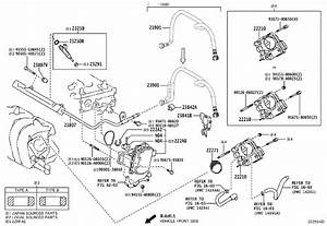 Toyota Corolla Engine Variable Valve Timing  Vvt  Solenoid  System  Fuel  Injection