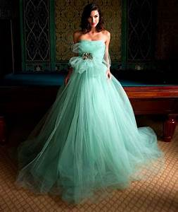 hot mint green tulle wedding dresses 2016 a line strapless With mint dresses for wedding