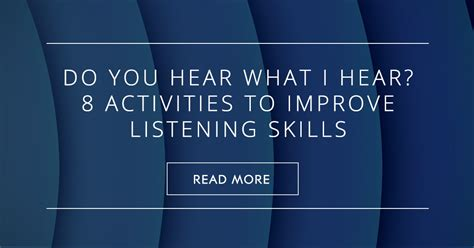 hear   hear  activities  improve