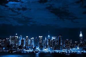 Urban City Night - wallpaper.