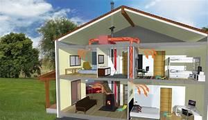 Chauffage Au Granule : le po le granul s avec distribution d 39 air chaud soleneo ~ Premium-room.com Idées de Décoration