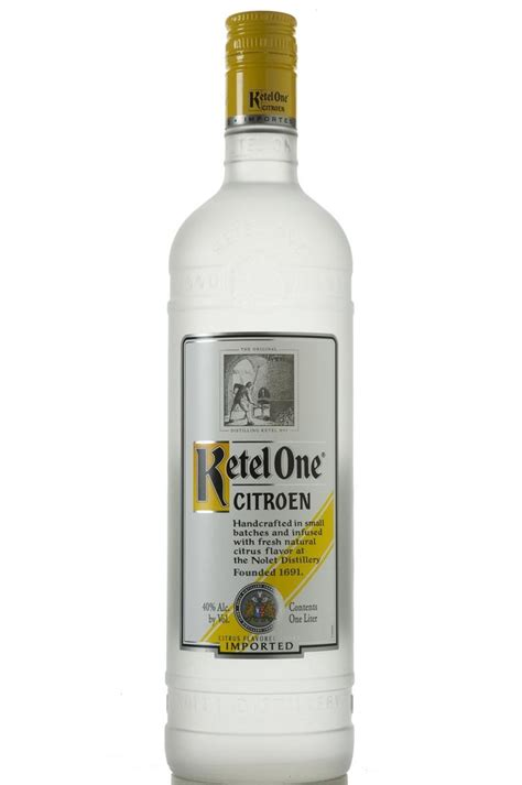 Citroen Vodka by Ketel One Citroen Vodka Haskell S