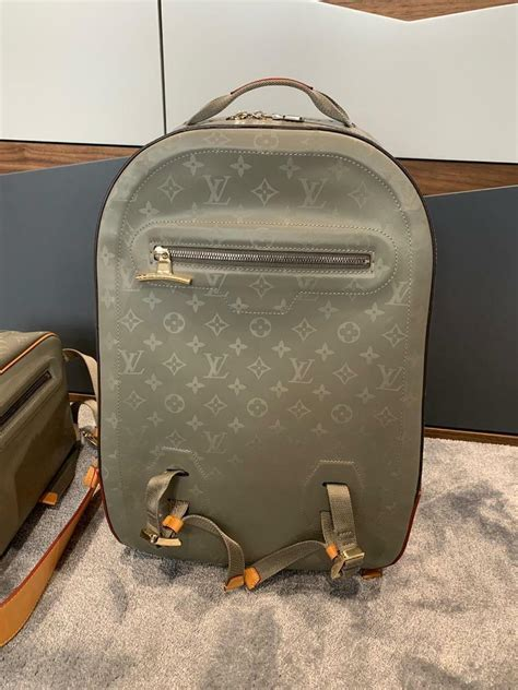 louis vuitton lv monogram titanium large backpack