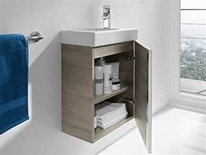 Meuble Pour Petite Salle De Bain : petits espaces dix meubles sous vasque pour une petite ~ Premium-room.com Idées de Décoration