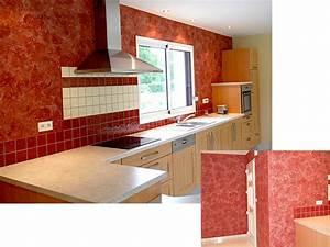 decoration cuisine peinture With modele deco cuisine peinture