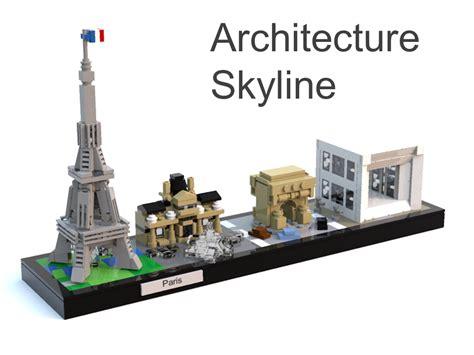 Extending LEGO Architecture – Custom Skylines