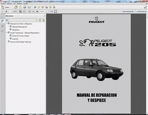 Peugeot 205 - Service Manual - Manual De Taller