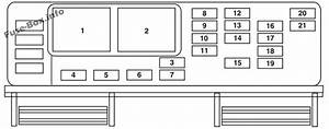 Fuse Box Diagram  U0026gt  Ford Freestar    Windstar  2004
