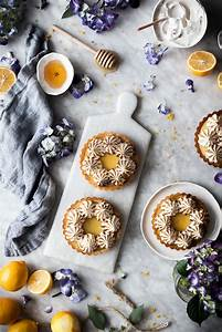 Coconut Lemon Meringue Tarts  Paleo  Gf