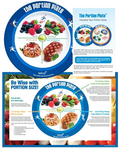 Portion Template by The 25 Best Portion Plate Ideas On Healthy