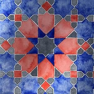 Pin, On, Islamic, Geometric, Design