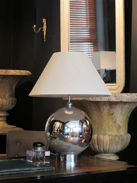 french mercury glass lamp base table lights
