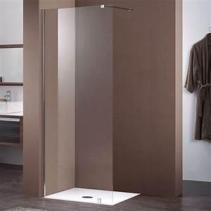 Paroi De Douche 120 : paroi fixe de 120 cm en 10 mm pour douche de salle de bain ~ Dailycaller-alerts.com Idées de Décoration