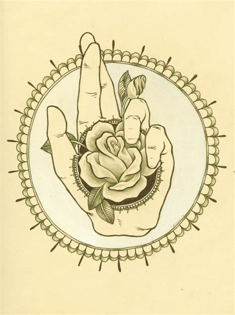 illustration rebecca ladds boner art tattoos tattoo sketches crossed fingers