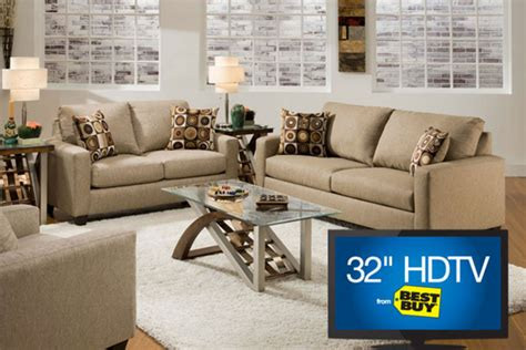 Coleman Loveseat by Coleman Sofa Loveseat 32 Quot Tv At Gardner White