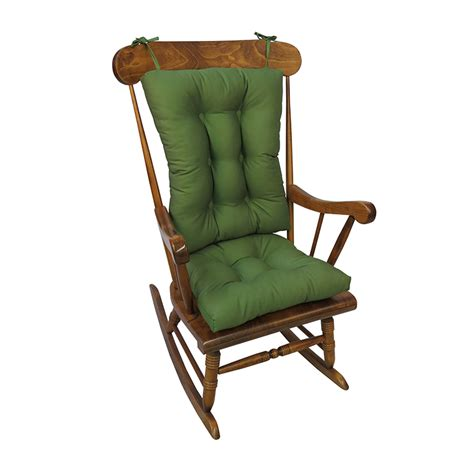 the gripper twill jumbo rocking chair cushions shop your