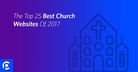 The Top 25 Best Church Websites Of 2017