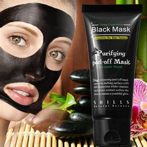 black mud mask peel