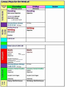 simplify your life with an all in one teacher organizer With block schedule lesson plan template free