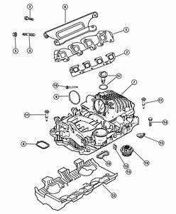 2006 Dodge Ram 1500 Seal  Throttle Body To Intake