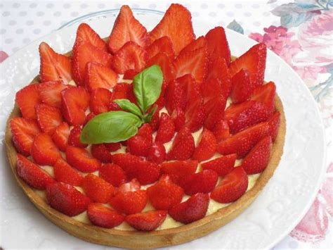 recettes de pate sucree et fraises
