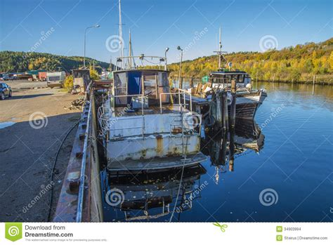 Big Boat In Rust by Big Steel Boat Stock Images Image 34903994
