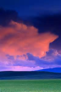 Colorful Storm Clouds