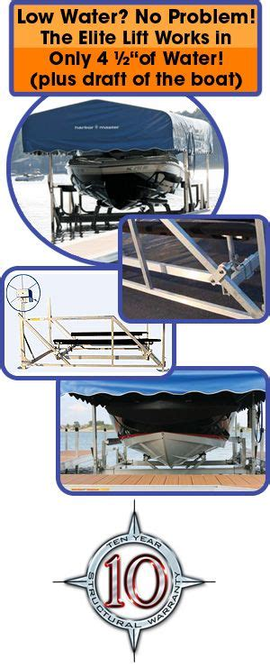 Harbor Master Boat Lift by 21 Best Boat Houses Images On Boat Lift Boat