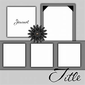free printable scrapbook layout templates free scrapbook With free scrapbooking templates to download