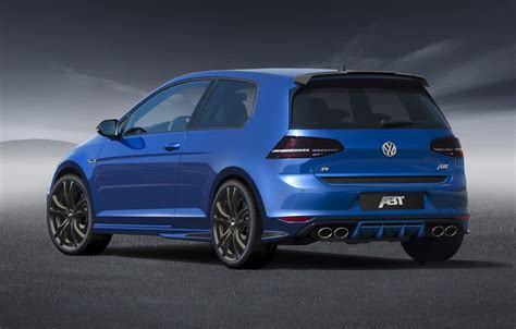 Volkswagen Golf R Tuning by Volkswagen Tuning Abt Tuned Golf R Does 0 100km H In 4 5s
