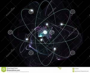 Carbon Atom Royalty Free Stock Photo