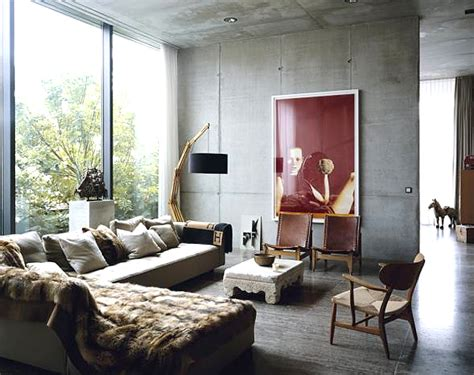 industrial chic living room design ideas interiorholiccom