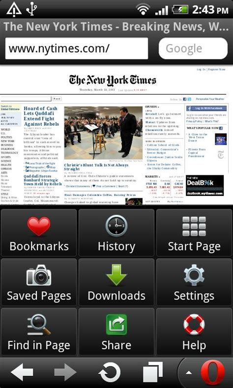 opera browser for android opera mobile web browser android app review opera