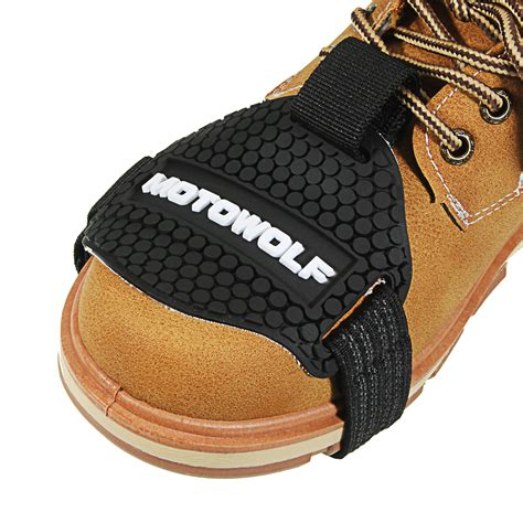 motorcycle gear shifter shoe boots protector shift sock