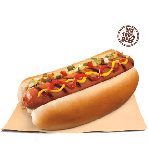 Classic Grilled Dog | BURGER KING® Aruba