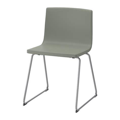 bernhard chair chrome plated mjuk green ikea