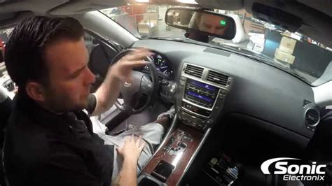 custom lexus is 350 how to remove dash panel factory stereo 2006 2013