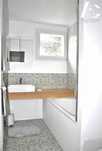 Dalle Adhesive Salle De Bain : dalle adhesive carreau de ciment sol stratifi trendtime ~ Premium-room.com Idées de Décoration