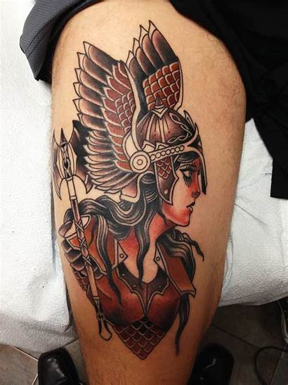 Valkyrie Tattoo Tattoos Electric Stefan Session Johnsson