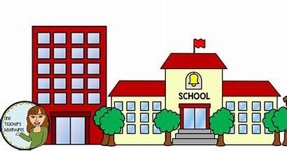 Clip Community Buildings Teacher