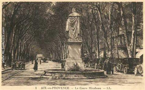 cartes postales anciennes d aix en provence 13080