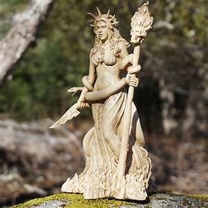 Hecate, Goddess, Statue