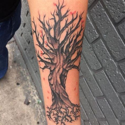 tree tattoos   wrist  meanings wild