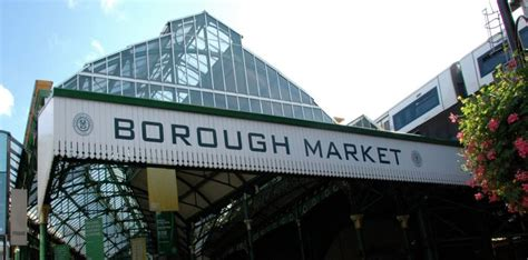 borough market sign shed with borough market sign borough market london