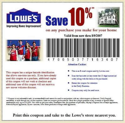 lowes coupon codes save    coupons promo codes
