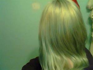 How Do I Dye My Blueish Green Hair Blonde Without Getting