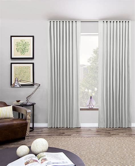 white sliding doors ripple fold drapery ripple fold drapes the shade store