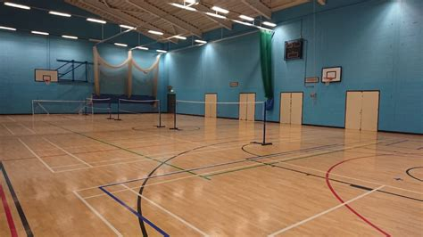 sports hall great dunmow leisure centre