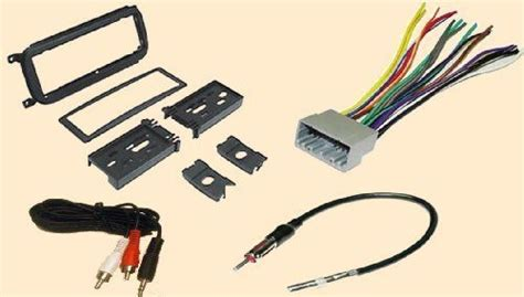 Jeep Radio Wiring Harnes by Radio Stereo Install Dash Kit Wire Harness Antenna