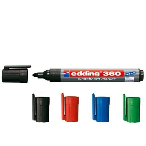 edding 360 whiteboardmarker mit rundspitze zum schreiben und markieren auf whiteboards